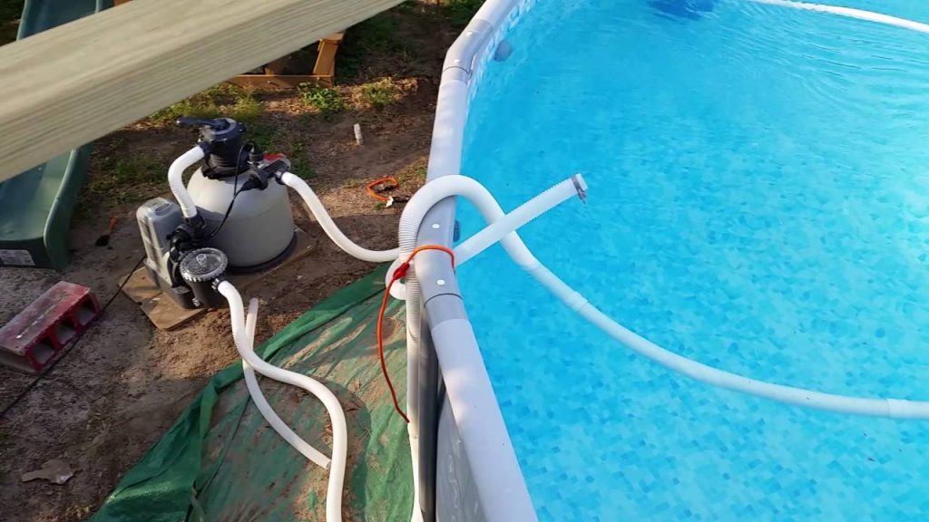 Vacuum Intex Pool Without Skimmer, How To Vacuum Your Above Ground Intex Pool